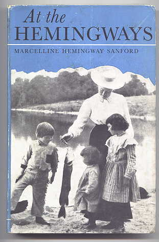 Image for AT THE HEMINGWAYS:  A FAMILY PORTRAIT.
