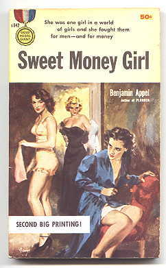 Image for SWEET MONEY GIRL.  GOLD MEDAL ORIGINAL S642.