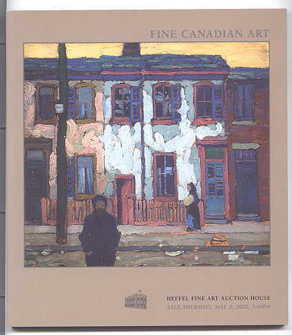 Image for FINE CANADIAN ART.  THURSDAY, MAY 2, 2002.
