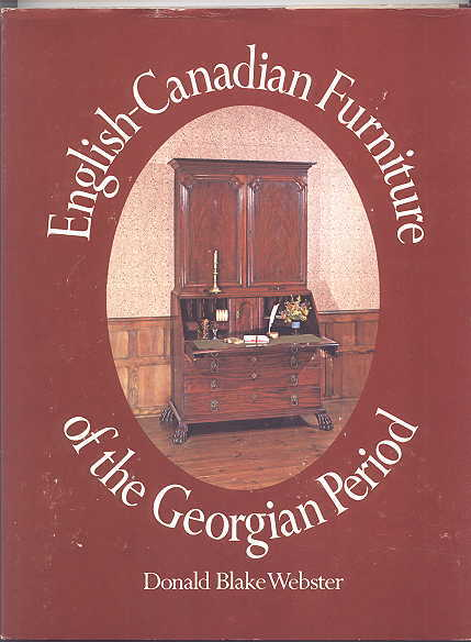 Image for ENGLISH-CANADIAN FURNITURE OF THE GEORGIAN PERIOD.