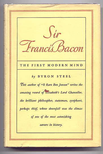 Image for SIR FRANCIS BACON:  THE FIRST MODERN MIND.