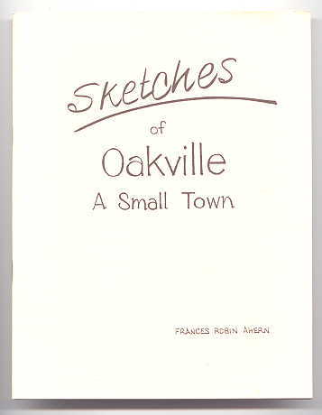Image for SKETCHES OF OAKVILLE - A SMALL TOWN.