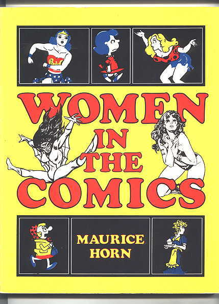 Image for WOMEN IN THE COMICS.