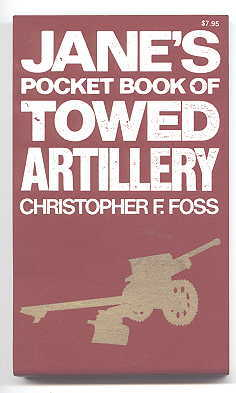 Image for JANE'S POCKET BOOK OF TOWED ARTILLERY.