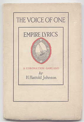 Image for THE VOICE OF ONE:  EMPIRE LYRICS.  A CORONATION GARLAND.