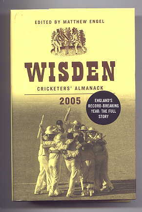 Image for WISDEN CRICKETERS' ALMANACK 2005.  142nd EDITION.