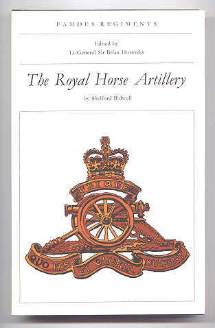 Image for THE ROYAL HORSE ARTILLERY.  FAMOUS REGIMENTS SERIES.