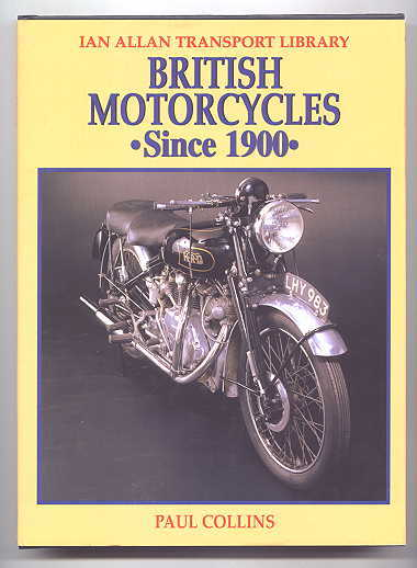 Image for BRITISH MOTORCYCLES SINCE 1900.