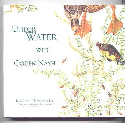 Image for UNDER WATER WITH OGDEN NASH.