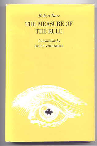 Image for THE MEASURE OF THE RULE.