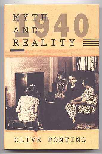 Image for 1940:  MYTH AND REALITY.