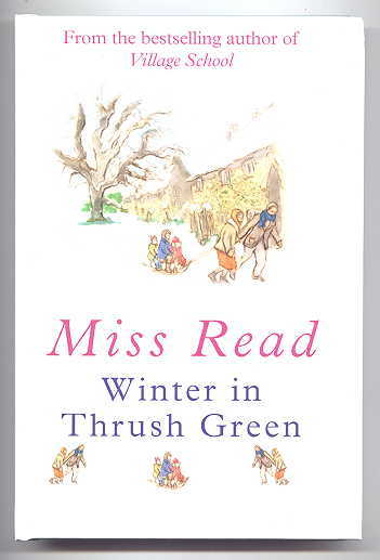 Image for WINTER IN THRUSH GREEN. LARGE PRINT EDITION.