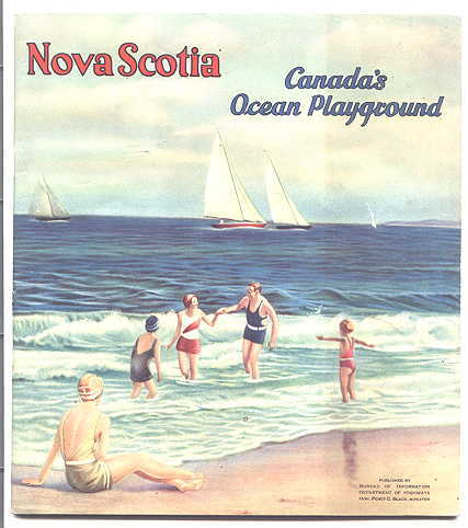 Image for NOVA SCOTIA - CANADA'S OCEAN PLAYGROUND.