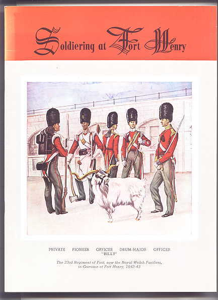 Image for SOLDIERING AT FORT HENRY, THE CITADEL OF UPPER CANADA.