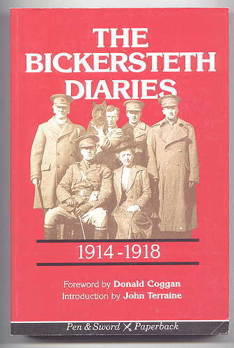 Image for THE BICKERSTETH DIARIES 1914-1918.