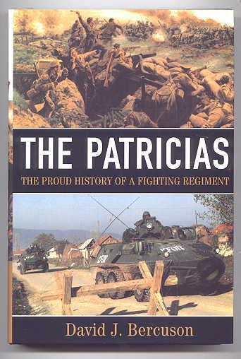Image for THE PATRICIAS:  THE PROUD HISTORY OF A FIGHTING REGIMENT.