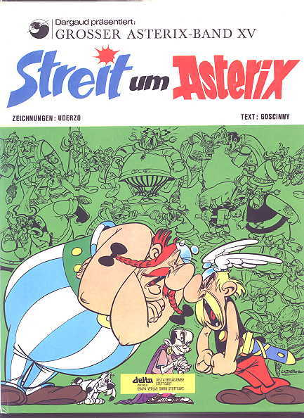 Image for STREIT UM ASTERIX.  GROSSER ASTERIX - BAND XV.