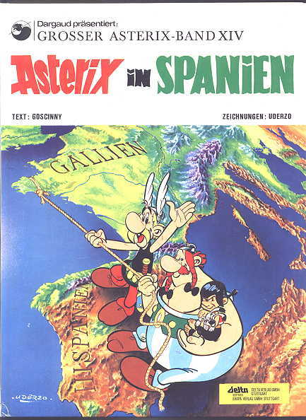 Image for ASTERIX IN SPANIEN.  GROSSER ASTERIX - BAND XIV.