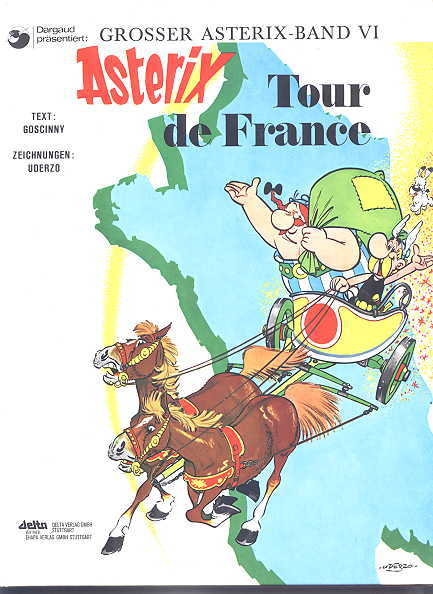 Image for ASTERIX TOUR DE FRANCE.  GROSSER ASTERIX - BAND VI.