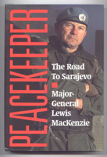 Image for PEACEKEEPER:  THE ROAD TO SARAJEVO.