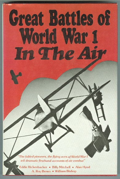 Image for GREAT BATTLES OF WORLD WAR I: IN THE AIR.