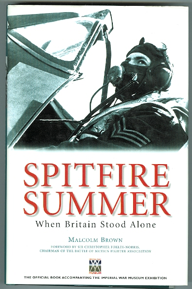 Image for SPITFIRE SUMMER:  WHEN BRITAIN STOOD ALONE.