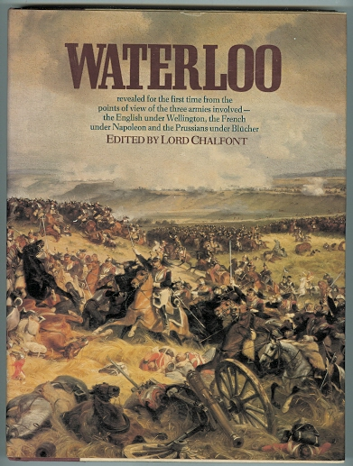 Image for WATERLOO:  BATTLE OF THREE ARMIES.