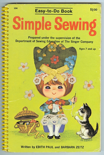 Image for SIMPLE SEWING.  PREPARED UNDER THE SUPERVISION OF THE DEPARTMENT OF SEWING EDUCATION OF THE SINGER COMPANY.  EASY-TO-DO BOOK SERIES.