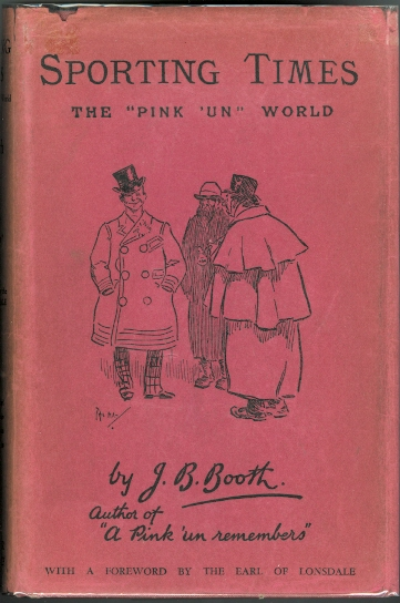 "Image for SPORTING TIMES: THE ""PINK 'UN"" WORLD."