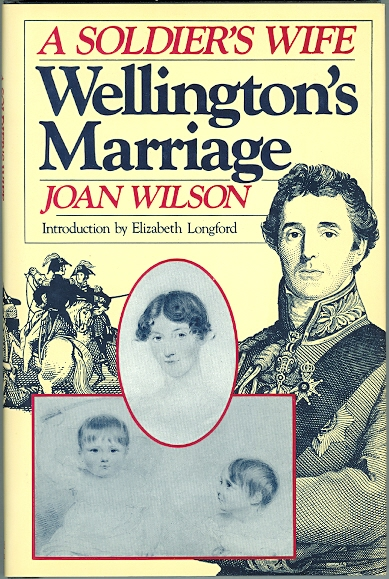 Image for WELLINGTON'S MARRIAGE: A SOLDIER'S WIFE.