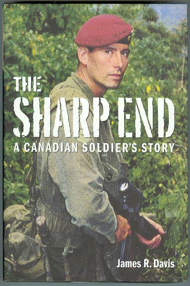 Image for THE SHARP END: A CANADIAN SOLDIER'S STORY.