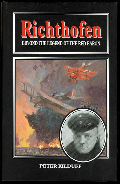 Image for RICHTHOFEN: BEYOND THE LEGEND OF THE RED BARON.