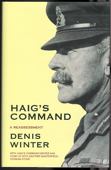 Image for HAIG'S COMMAND: A REASSESSMENT.