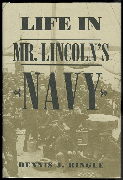 Image for LIFE IN MR. LINCOLN'S NAVY.