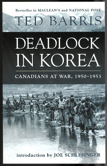 Image for DEADLOCK IN KOREA:  CANADIANS AT WAR, 1950-1953.