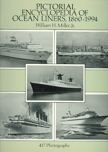 Image for PICTORIAL ENCYCLOPEDIA OF OCEAN LINERS 1860-1994.