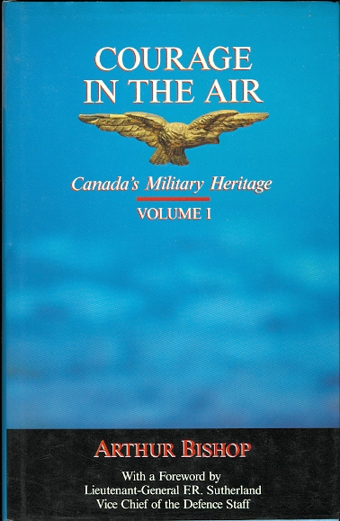 Image for COURAGE IN THE AIR.  VOLUME I: CANADA'S MILITARY HERITAGE.