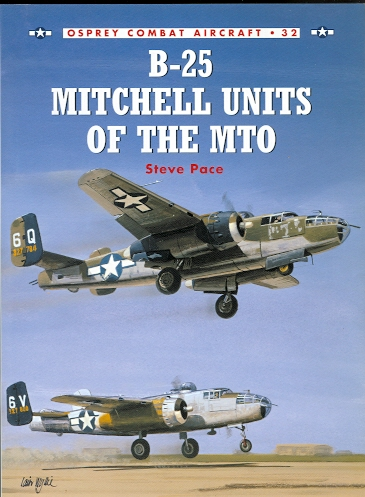 Image for B-25 MITCHELL UNITS OF THE MTO.  OSPREY COMBAT AIRCRAFT 32.