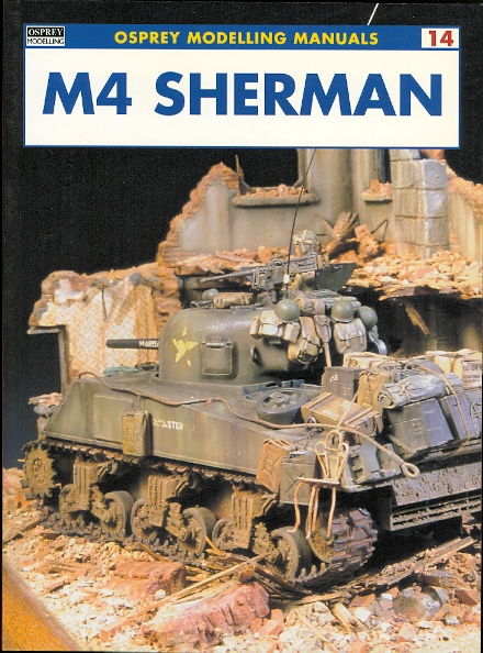 Image for M4 SHERMAN.  OSPREY MODELLING MANUALS 14.