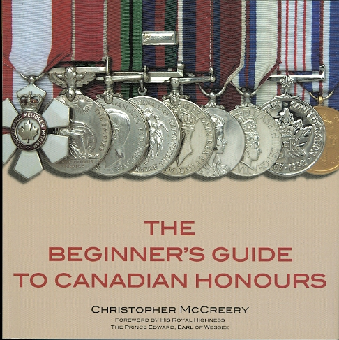 Image for THE BEGINNER'S GUIDE TO CANADIAN HONOURS.