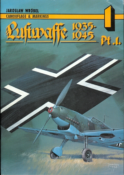 Image for LUFTWAFFE 1935-1945.  CAMOUFLAGE & MARKINGS PART 1.
