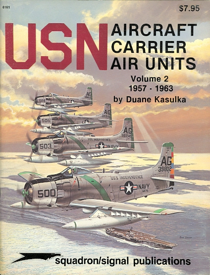 Image for USN AIRCRAFT CARRIER AIR UNITS.  VOLUME 2.  1957-1963.