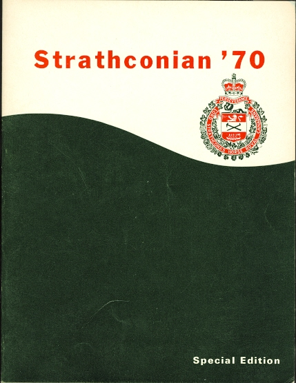 Image for THE STRATHCONIAN: JOURNAL OF LORD STRATHCONA'S HORSE (ROYAL CANADIANS).  ALLIED WITH THE 17/21st LANCERS.  DECEMBER 1970.  SPECIAL EDITION. (STRATHCONIAN '70)