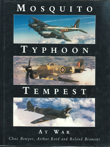 Image for MOSQUITO TYPHOON TEMPEST AT WAR.