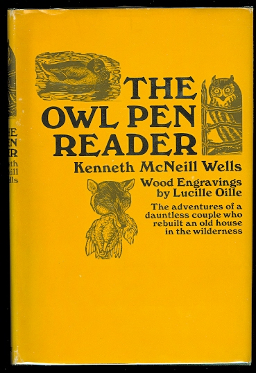 Image for THE OWL PEN READER.  (CONTAINS SLIGHTLY ABRIDGED VERSIONS OF: THE OWL PEN; BY MOONSTONE CREEK; UP MEDONTE WAY; AND BY JUMPING CAT BRIDGE.)