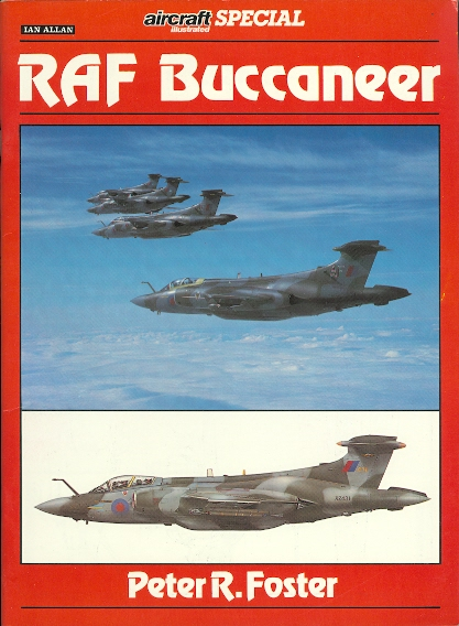 Image for RAF BUCCANEER.  AIRCRAFT ILLUSTRATED SPECIAL.