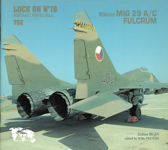 Image for MIKOYAN MIG 29 A/C FULCRUM.  LOCK ON NO. 19 AIRCRAFT PHOTO FILE.