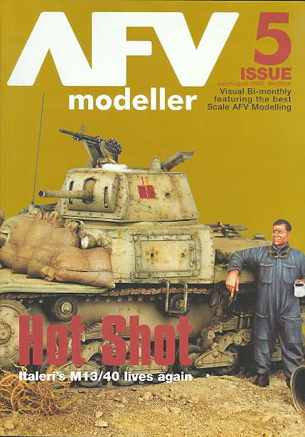 Image for AFV MODELLER.  ISSUE 5.  JULY/AUGUST 2002.