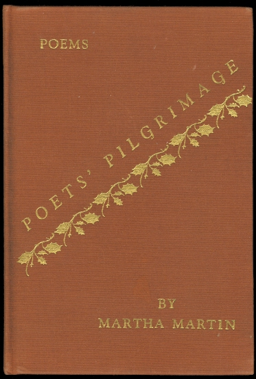 Image for POETS' PILGRIMAGE.