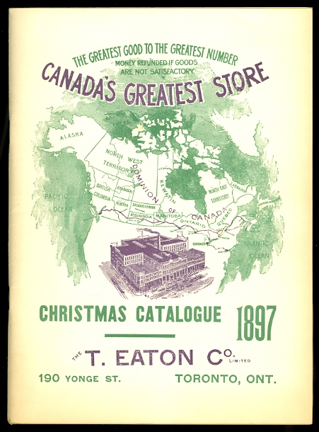 Image for CHRISTMAS CATALOGUE 1897.  THE T. EATON CO. LIMITED.